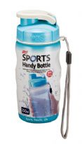 Lock & Lock Blue Sports Handy Bottle with Carry Strap - 350ml